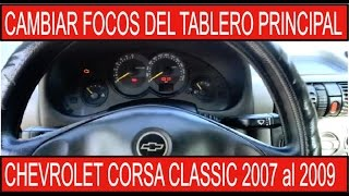 getlinkyoutube.com-CAMBIAR FOCOS DE TABLERO CHEVROLET CORSA 2008