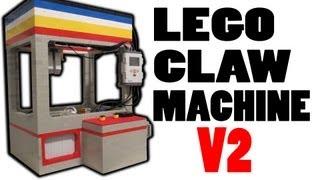 getlinkyoutube.com-Lego Claw Machine V2 *AWESOME*