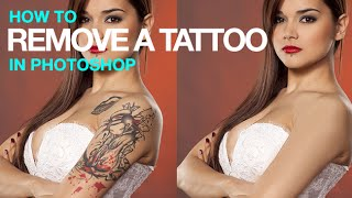 getlinkyoutube.com-How to Remove a Tattoo in Photoshop