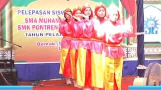 getlinkyoutube.com-Tari melayu NIRMALA -SMA MUHAMMADIYAH DEMAK _ SMK PONTREN DEMAK