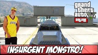 getlinkyoutube.com-GTA V - PC - NINGUÉM Bate o Insurgent!