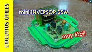 getlinkyoutube.com-Inversor 12v - 220v/125v 25w MUY FÁCIL. Circuitos Útiles 11