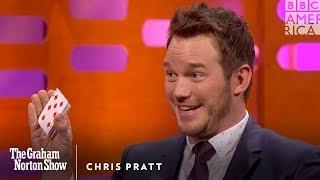 getlinkyoutube.com-Chris Pratt Knows The Best Card Trick Ever - The Graham Norton Show