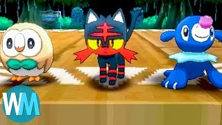Top 10 Coolest Pokémon From Pokémon Sun & Pokémon Moon