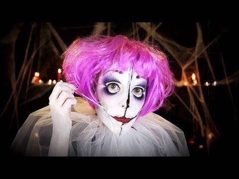Maquillage Halloween / La poupée diabolique