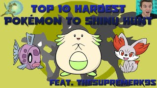 getlinkyoutube.com-Top 10 Hardest Pokémon to Shiny Hunt (Feat. TheSupremeRk9s)