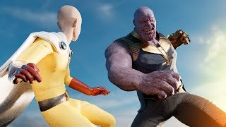 Thanos vs. Saitama (One Punch Man) | Part II