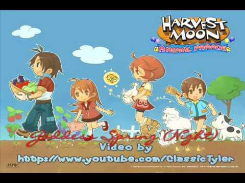 Harvest Moon: Animal Parade 14- Goddess Spring (Night)