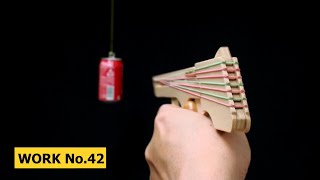 getlinkyoutube.com-Nicked Ramp-Releaser, 8 rounds Rubber Band Hand Gun/ oggcraft.jp