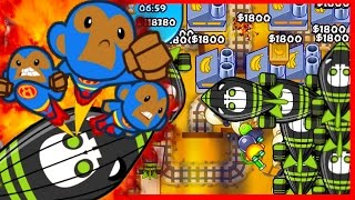 getlinkyoutube.com-Bloons TD Battles - THEY CAN't HANDLE IT! RAGE QUIT! - Bloons TD Battles R3 Bananza!
