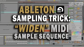 Ableton Sampling Trick to