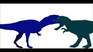 getlinkyoutube.com-PDW   Giganotosaurus Rampage