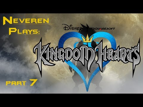Let's Play/Stream Kingdom Hearts [BLIND] (Part 7) | Where is Alice? Also, Gorillas.