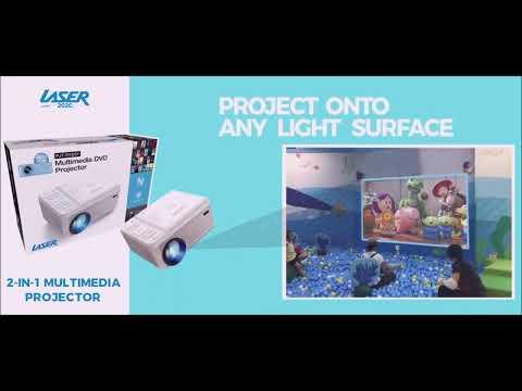 Laser Multimedia DVD Projector