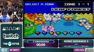 Sonic Advance 2 by kirbymastah in 27:53 - Awesome Games Done Quick 2017 - Part 120