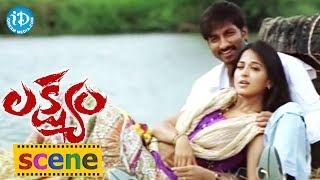 getlinkyoutube.com-Romance of the Day 11 || Gopichand, Anushka Romantic Liplock Scene || Telugu