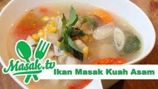 getlinkyoutube.com-Ikan Masak Kuah Asam | Resep #093