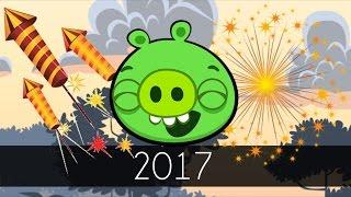 getlinkyoutube.com-Bad Piggies - 2017 (Field of Dreams) - Happy New Year!