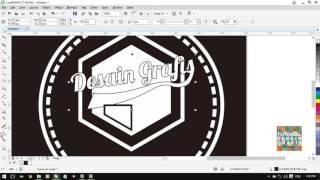 getlinkyoutube.com-cara membuat logo mod retro dengan coreldraw