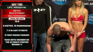 Pesajes de UFC on FOX 11: Werdum vs. Browne