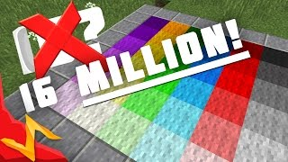 getlinkyoutube.com-16,000,000 Block Colors in Minecraft