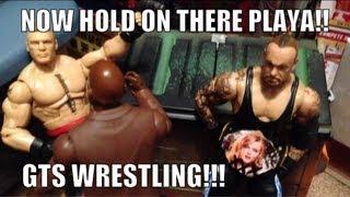 getlinkyoutube.com-GTS WRESTLING: Chocolate Milk Match! WWE Raw parody figure matches mattel elites animation