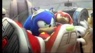 getlinkyoutube.com-Sonic Riders Zero Gravity (Wii) Hero Story Cutscene 1 Opening