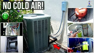 ULTIMATE Central A/C Troubleshooting & Repair Guide!