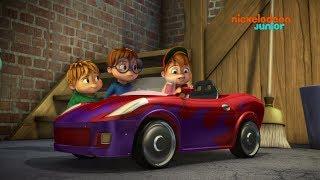 Alvinnn!!! Et les Chipmunks | La voiture d'Alvin | NICKELODEON JUNIOR