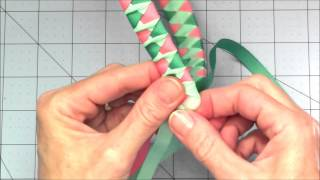 getlinkyoutube.com-Woven Ribbon Headband with a Twist Tutorial