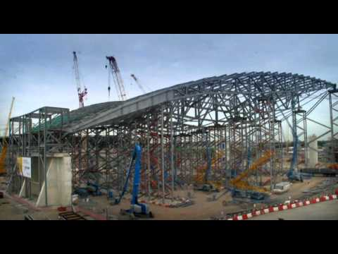 London 2012 Olympic Aquatics Centre Timelapse