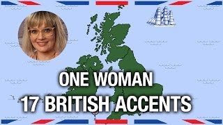 One Woman, 17 British Accents - Anglophenia Ep 5 width=