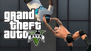 getlinkyoutube.com-GTA 5 PC Skits: RKO Outta Nowhere, The Inner Force & More! (Funny Moments w/ Mods)