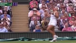 getlinkyoutube.com-Serena Williams vs Angelique Kerber Full Highlights FINAL - Wimbledon 2016 (HD)