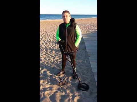 Коп на пляжах Валенсии