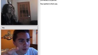 getlinkyoutube.com-Chatroulette Experience 17 - Johnny Depp on Chatroulette