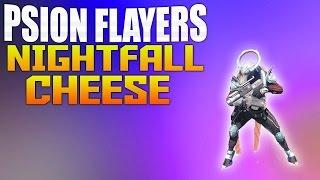 Destiny Glitches - Destiny How To Cheese the Psion Flayers - Destiny Dust Palace Nightfall Glitch
