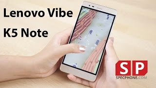รีวิว Lenovo Vibe K5 Note จออย่างแจ่ม ดูกันเพลินอ่ะ