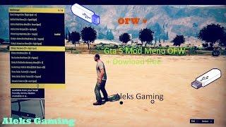 getlinkyoutube.com-Gta 5 Mod MENU Online\Offline 1.25\1.26 (OFW)
