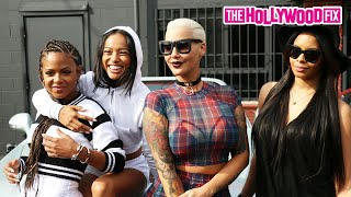 getlinkyoutube.com-Karrueche Tran, Amber Rose, Christina Milian, & Vanessa Simmons Shift To Coachella 4.10.15