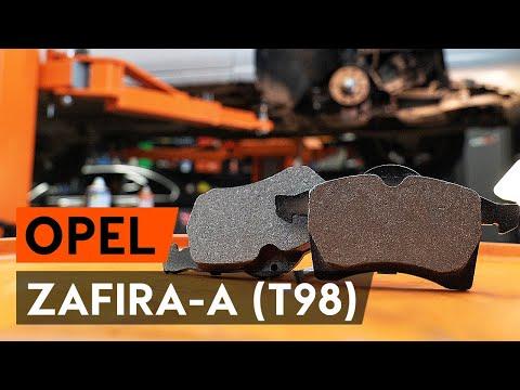 Как заменить передние тормозные колодки на OPEL ZAFIRA-A 1 (T98) (ВИДЕОУРОК AUTODOC)