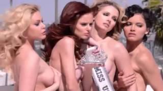 getlinkyoutube.com-Miss USA Winners Pose Naked for New PETA Ad!