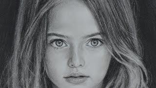 getlinkyoutube.com-Kristina Pimenova - speed drawing portrait