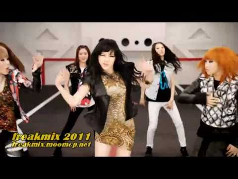 v264 : 2ne1 megamix II ver.2 ft. big bang . freaky remix