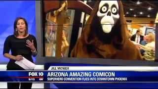 getlinkyoutube.com-Victor Moreno @ The Amazing Arizona Comicon 2015 - FOX 10 News Phoenix