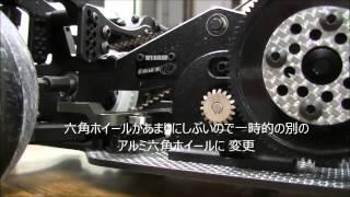getlinkyoutube.com-2WD ラジドリ   ニューシャーシ  D-LIKE Re-R HYBRID  2WD 編 RWD DRIFT RC setting