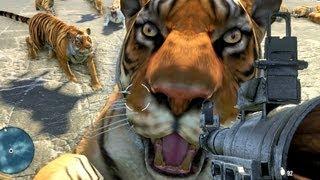 getlinkyoutube.com-Far Cry 3 1000 Tigers Vs RPG!