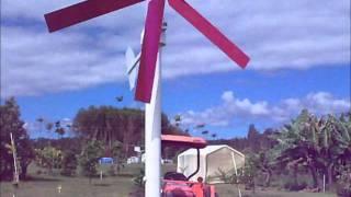 getlinkyoutube.com-Windmill and water pump. DIY part 3