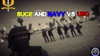 getlinkyoutube.com-GTA 5 Online SUCE NAVY VS UFC SQUAD