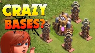 "getlinkyoutube.com-Clash of Clans: ""CRAZY BASES... HUGE LOOT!"" DARK ELIXIR TIME FARMING SPECIAL!"
